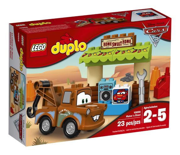 Lego DuploCars 3 Movie Mater's Shed, 23-pc Product image