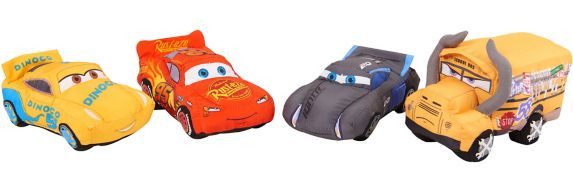 Cars 3 Crash 'Ems Plush, Assorted