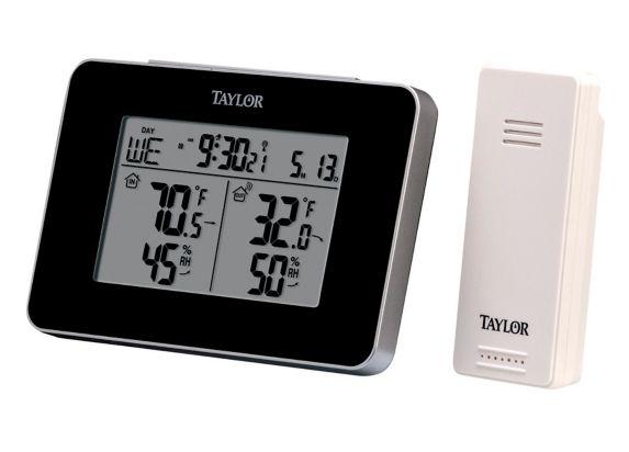 Thermomètre intérieur / extérieur sans fil Taylor