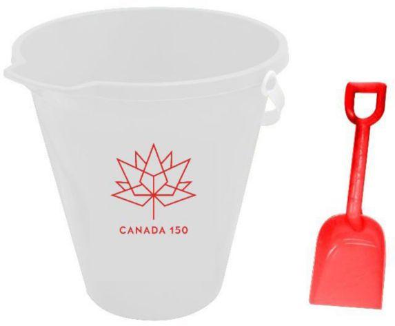 Seau et pelle Canada, 9 po Image de l'article