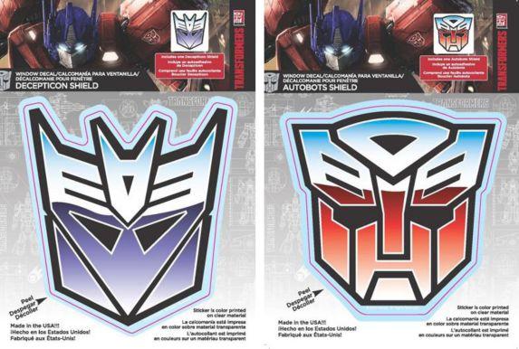 Décalcomanies Transformers, variés