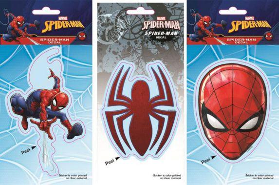 Décalcomanies Spider-Man, variés