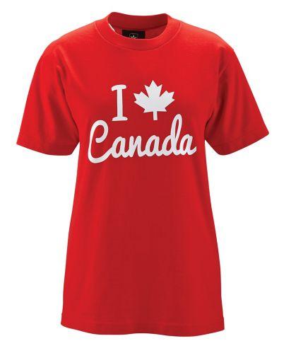 T-shirt Canada, dames, choix varié Image de l'article