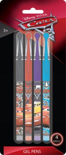 Disney Cars 3 Gel Pens, 4-pk