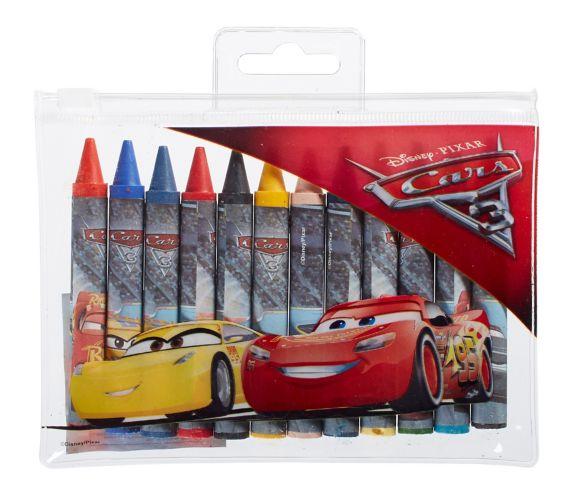 Disney Cars 3 Crayons, 12-pk