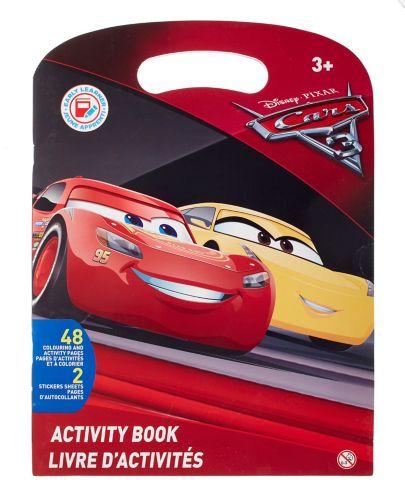 Disney Cars 3 Activity Book