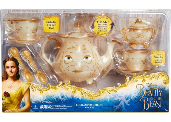 Beauty & the Beast Enchanted Objects Tea Set