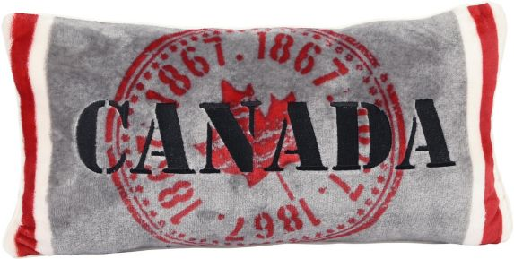 Canada Breakfast Cushion, 20x10-in Product image