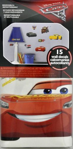 Cars 3 Wall Decal, 15-pk Product image