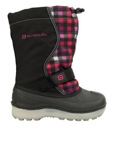 Outbound Light-Up Winter Boots, Girls Product image
