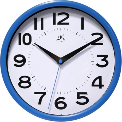 Back to School Clock, Assorted Colours, 9-in Product image