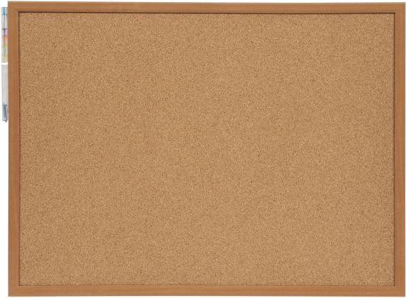 Cork Board with Push Pins, 17 x 23-in Product image