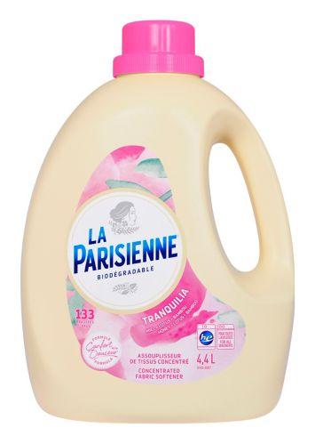 La Parisienne Liquid Fabric Softener, Tranquilia, 133-Load