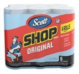 Serviettes d'atelier Scotts bleues, paq. 6   Kimberly-Clarknull
