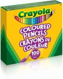 Crayola Coloured Pencils, 100-pk | Crayolanull