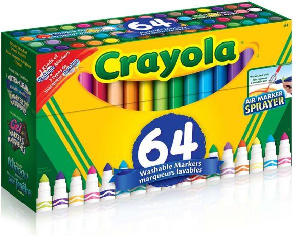 Crayola Broadline Markers Variety Pack, 64-pk Product image