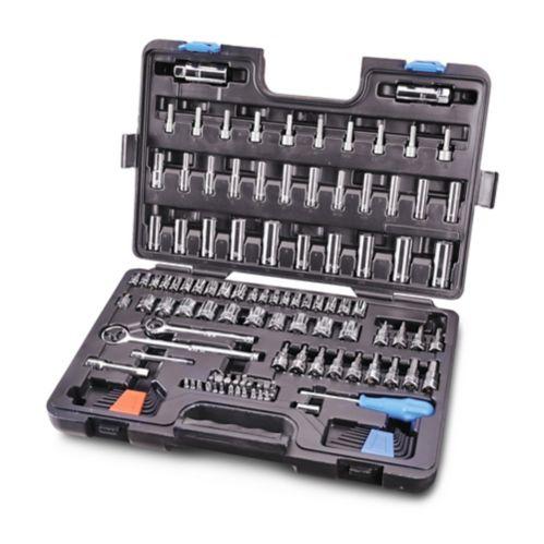 Mastercraft Socket Set & Wrench Set Combo, 146-pc Product image