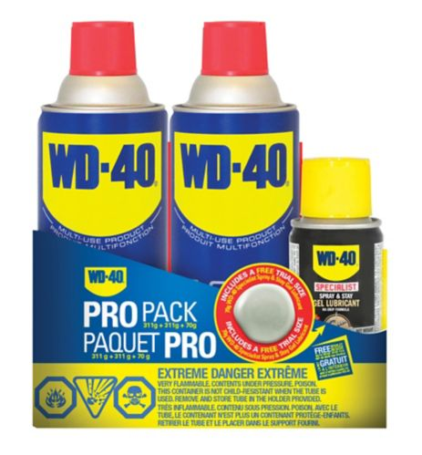 WD-40 Multi-Use Lubricant Pro Pack, 2-pk
