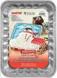 Handi-Foil Holiday Snowman Baking Pan and Lid, 2-pcs | Handi-Foilnull