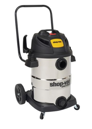 Shop-Vac® Stainless SteelWet/Dry Vacuum with Bonus Accessories, 45-L Product image
