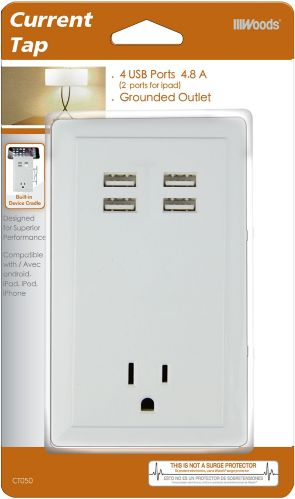 Southwire USB Charging Outlet With 4 USB Ports