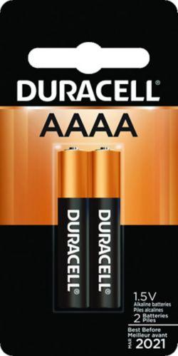 Piles alcalines Duracell AAAA, paq.2