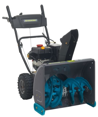 Yardworks 208cc Gas Snowblower, 24-in Product image