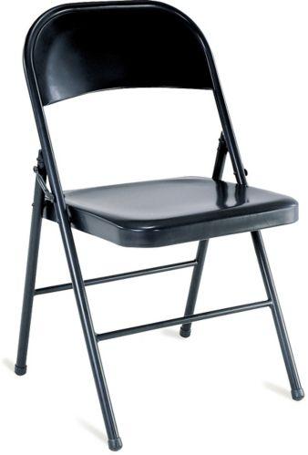 Chaise pliante en acier Image de l'article