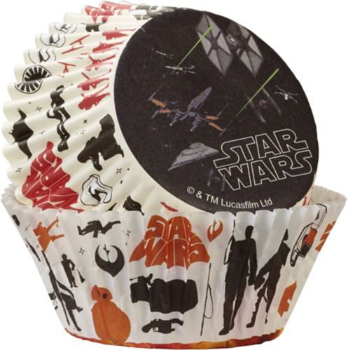 Moules en papier Wilton Star Wars, paq. 50 Image de l'article