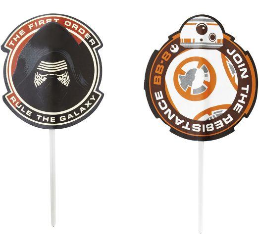 Wilton Star Wars Fun Pix Toppers, 24-pk Product image
