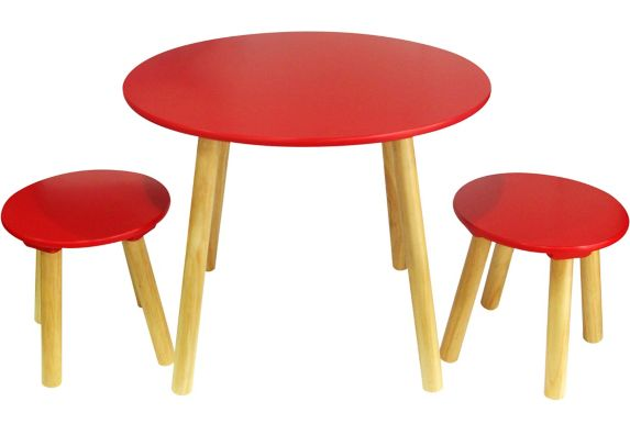 Ace Casual Kids 3 Piece Table with 2 Stools Product image