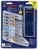 Bosch 6A Top-Handle T-Shank Jigsaw & Bonus Blade Set, 18-pc | Bosch