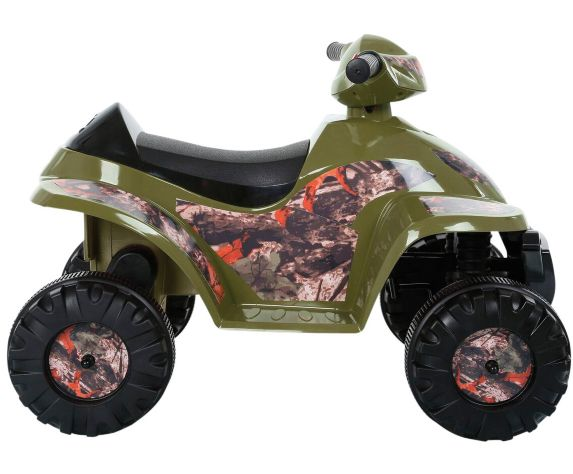 Rollplay 6 Volt Kids Camo Quad Ride On Product image