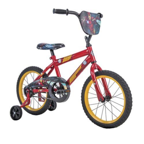 Vélo Marvel Ironman pour enfants, 14 po