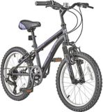 CCM Ruckus Kids' Bike, Black/Purple, 18-in