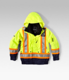 HI-VIS HD3 T-MAX LINED 3-IN-1 BOMBER JACKET