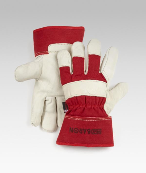 John Watson Red Baron Cowhide Leather Gloves | Jaxspan