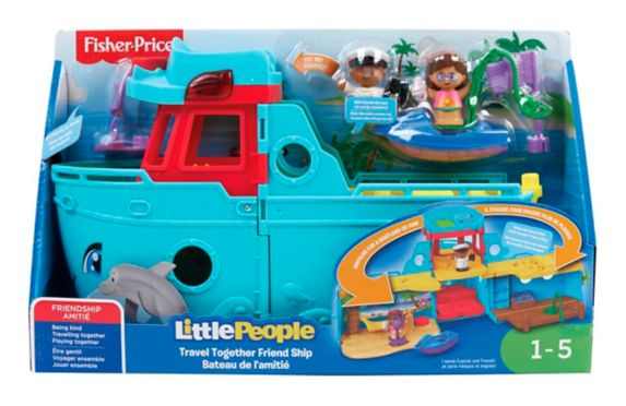 Fisher-Price® Little People Travel Together Friend Ship Product image