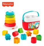 Fisher-Price® Rock-a-Stack & les premiers blocs de bébé, jouets à base de plantes | Fisher-Pricenull