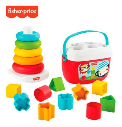 Fisher-Price® Rock-a-Stack & les premiers blocs de bébé, jouets à base de plantes Image de l'article
