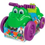 Crocodile à pédale qui croque Mega Bloks | Mattelnull