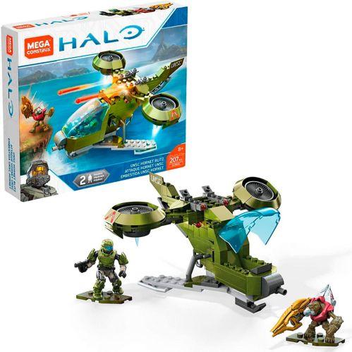 Jeu de construction Mega Construx Halo Attaque Hornet UNSC Image de l'article