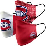 Montreal Canadiens Cloth Face Mask, 3-pk | NHLnull