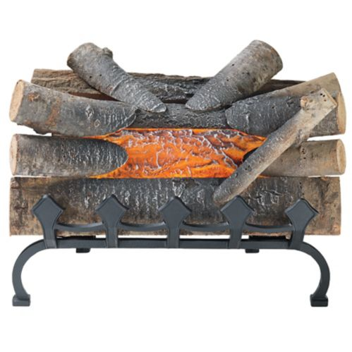 Pleasant Hearth Electric Fireplace Log with Grate, 20-in Product image