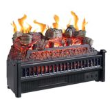 Pleasant Hearth Electric Log Insert with Heater | Pleasant Hearthnull