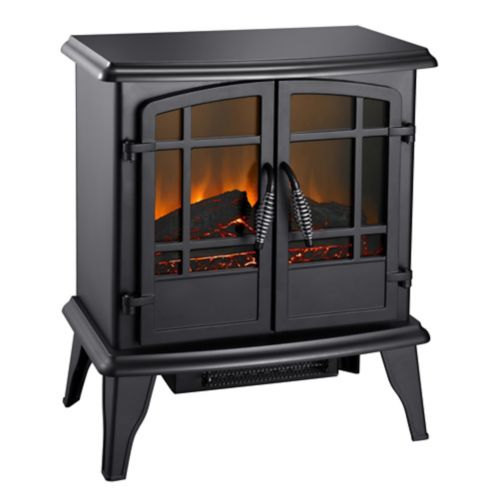 Pleasant Hearth Electric Stove, Matte Black, 20-in Product image