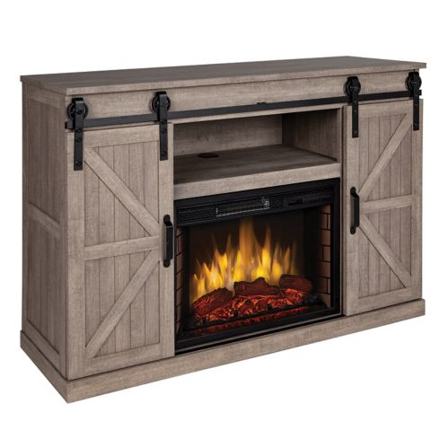 Muskoka Columbia Media Electric Infrared Fireplace, 48-in Product image