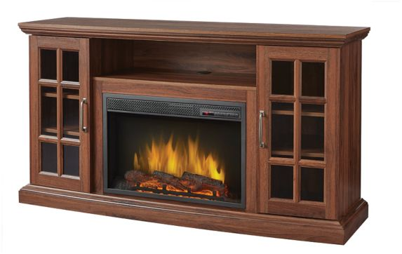 Muskoka Brookfield Media Electric Fireplace, Oak Product image