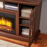 Muskoka Brookfield Media Electric Fireplace, Oak | Muskokanull