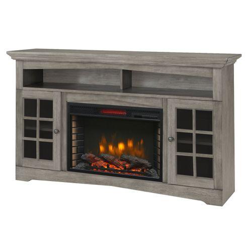 Muskoka Huntley Media Fireplace, Grey, 59-in Product image